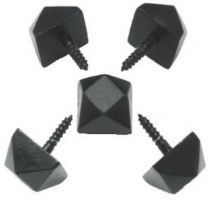 Black Antique Iron Door Studs In Packs Of 2 4 6 8 10 20